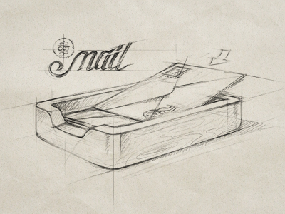 mail1 Beautiful Brainstorming: 25 Inspirational Icon Sketches