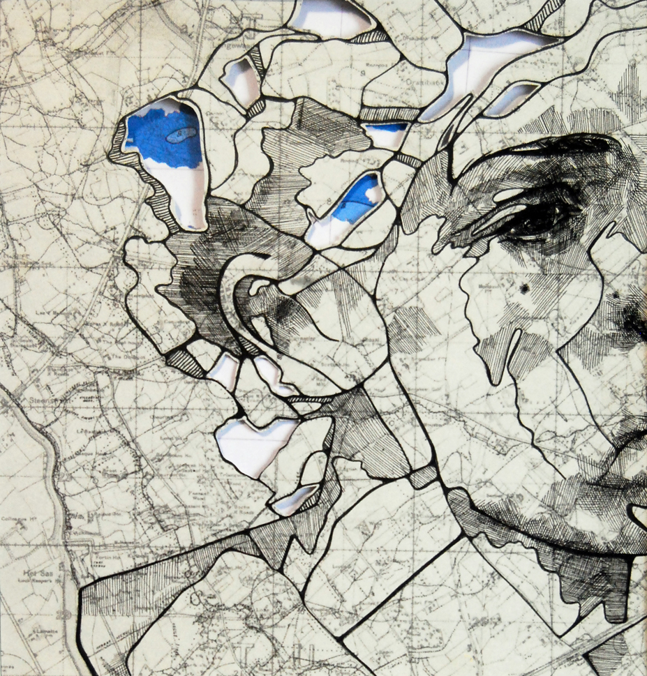 map portraits by ed fairburn 10 Striking Map Portraits by Ed Fairburn