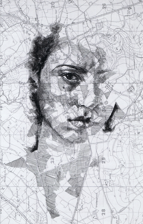 map portraits by ed fairburn 11 Striking Map Portraits by Ed Fairburn
