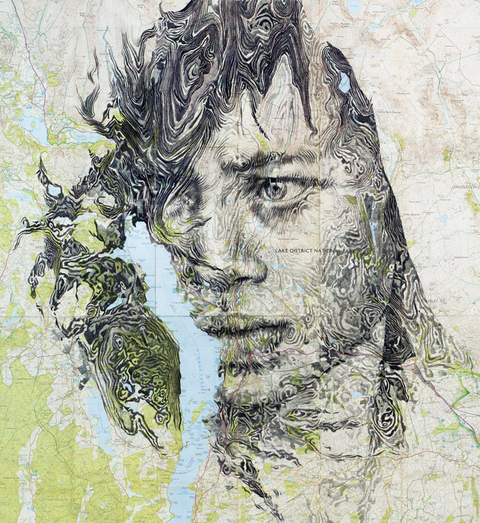 map portraits by ed fairburn 12 Striking Map Portraits by Ed Fairburn