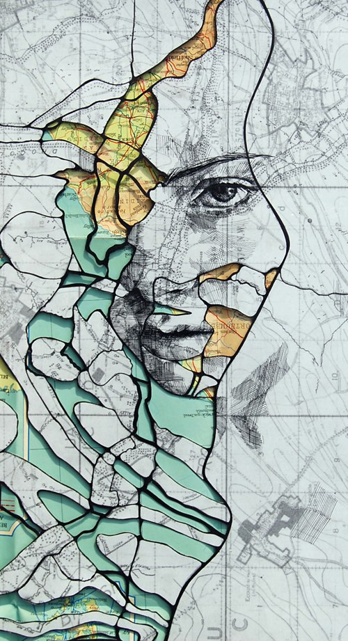 map portraits by ed fairburn 13 Striking Map Portraits by Ed Fairburn