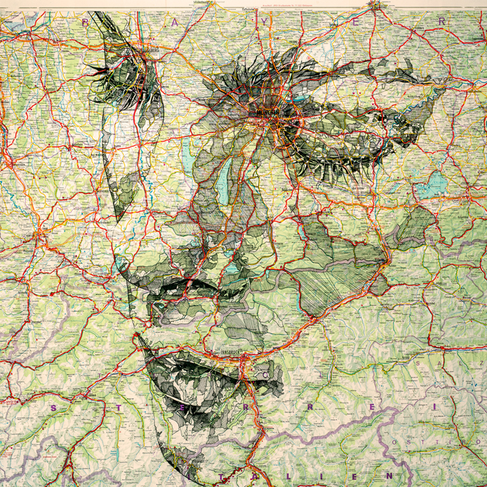 map portraits by ed fairburn 14 Striking Map Portraits by Ed Fairburn