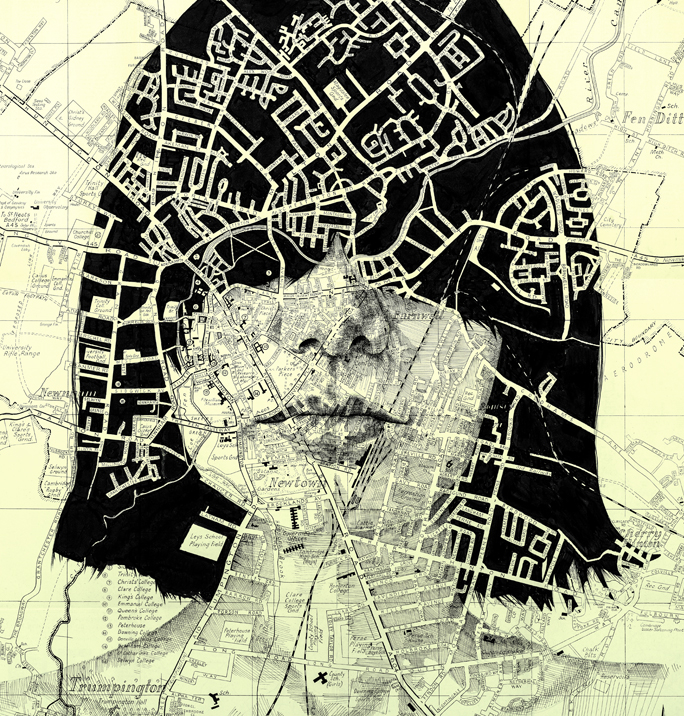 map portraits by ed fairburn 15 Striking Map Portraits by Ed Fairburn