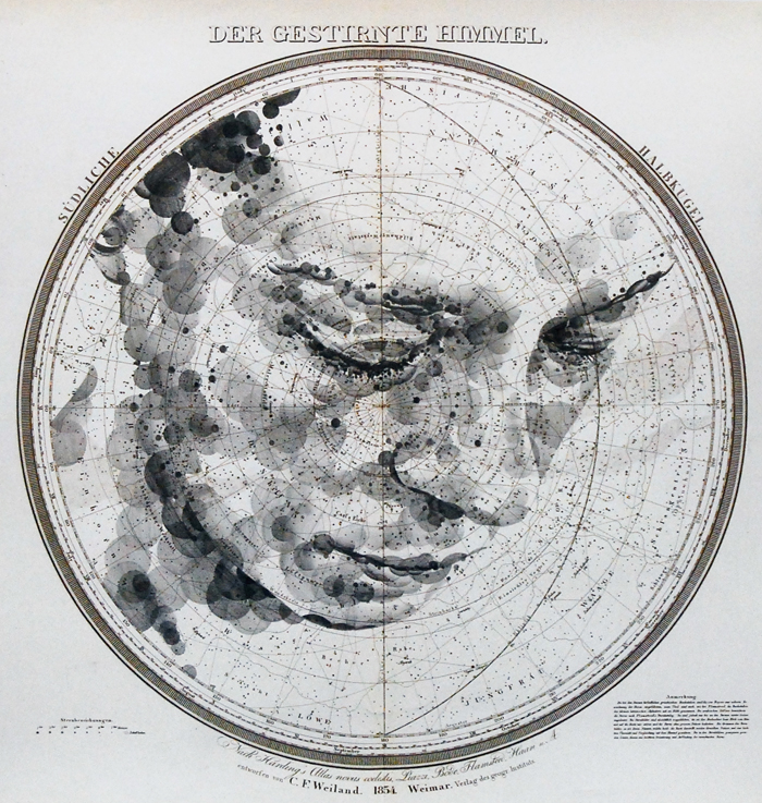 map portraits by ed fairburn 16 Striking Map Portraits by Ed Fairburn