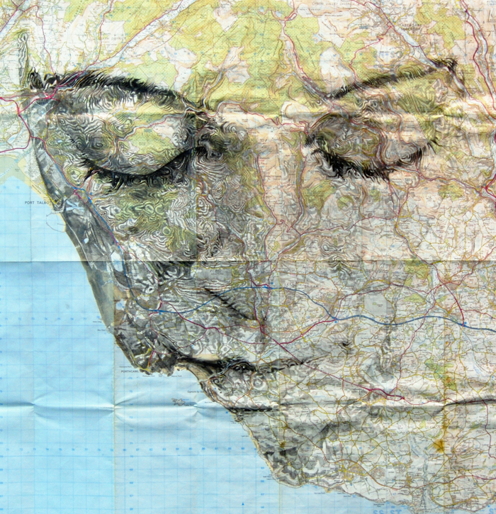 map portraits by ed fairburn 8 Striking Map Portraits by Ed Fairburn