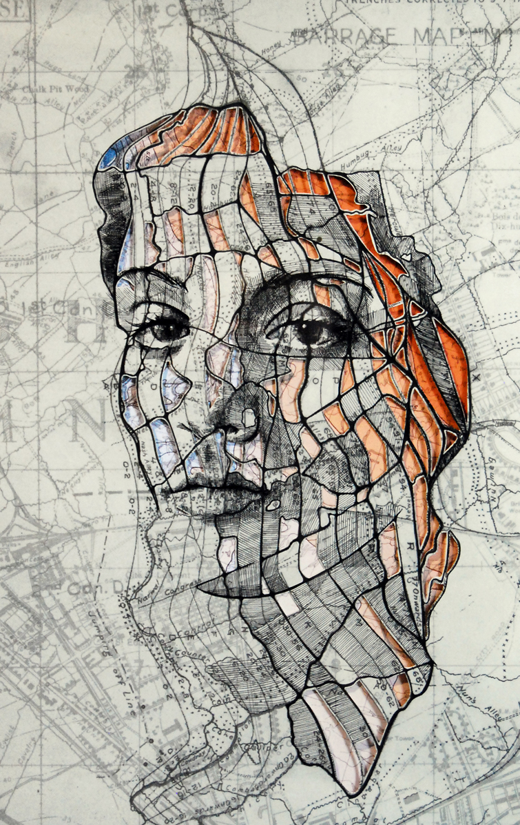 map portraits by ed fairburn 9 Striking Map Portraits by Ed Fairburn