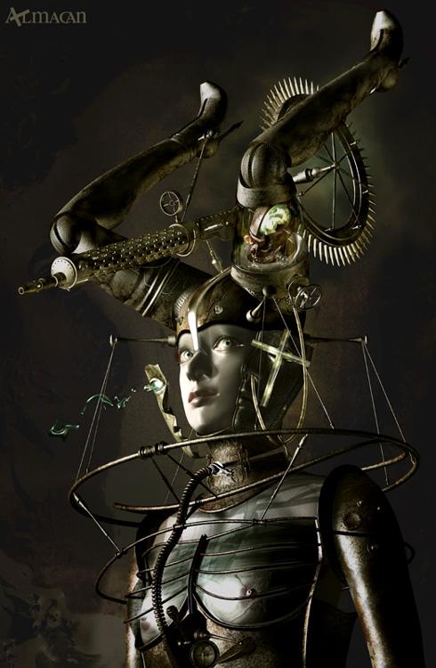 Mechanical 3D Digital Art by Kazuhiko Nakamura (10)
