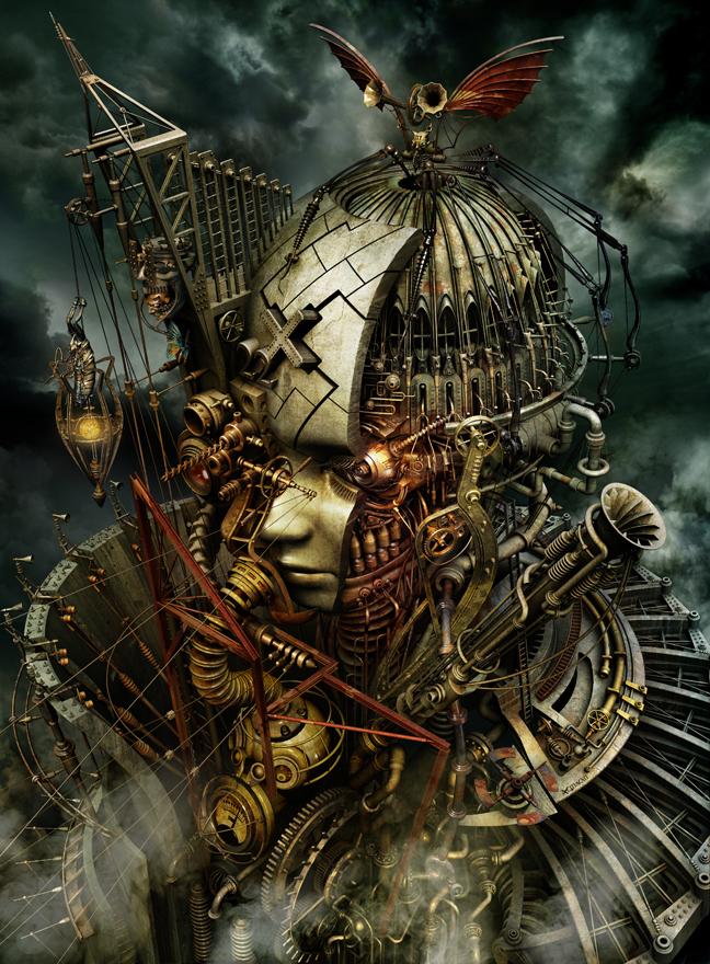 mechanical 3d digital art by kazuhiko nakamura 14 Mechanical 3D Digital Art by Kazuhiko Nakamura
