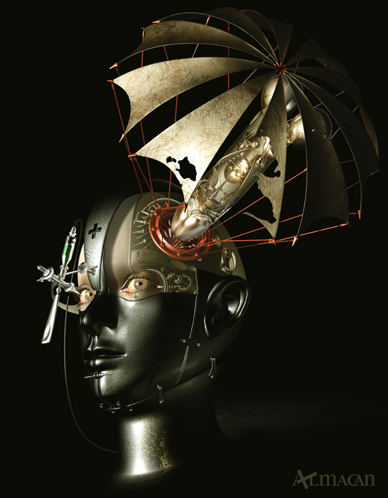 Mechanical 3D Digital Art by Kazuhiko Nakamura (15)