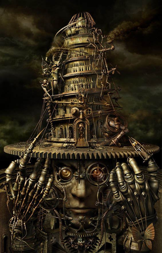 Mechanical 3D Digital Art by Kazuhiko Nakamura (5)