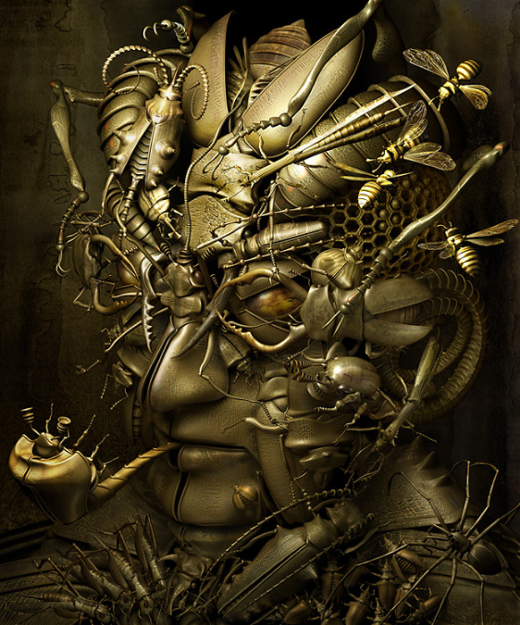 Mechanical 3D Digital Art by Kazuhiko Nakamura (6)