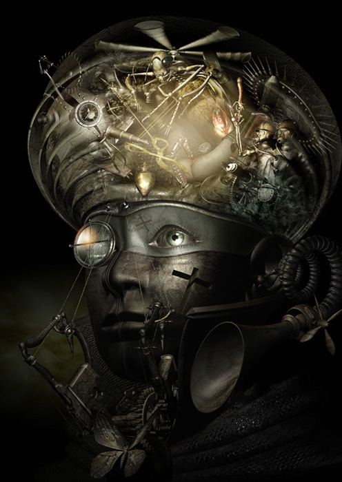 Mechanical 3D Digital Art by Kazuhiko Nakamura (7)