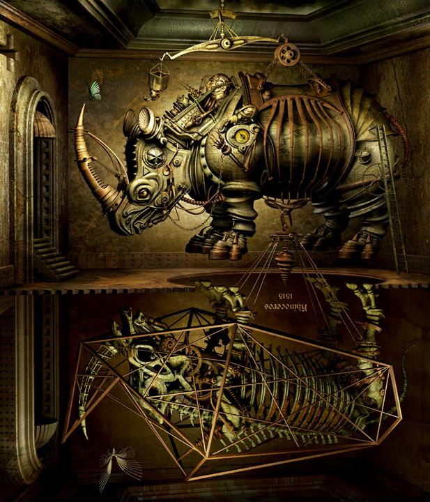 Mechanical 3D Digital Art by Kazuhiko Nakamura (9)