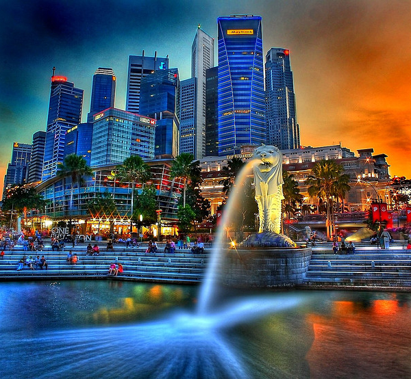 merlion singapore 70 Jaw Dropping HDR Photographs