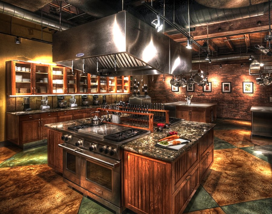 My Kitchen HDR by Evren Gunturkun
