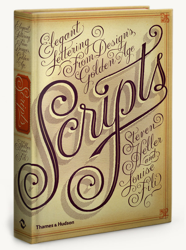scripts elegant lettering from designs golden age 15 Enlightening Books for Typography Enthusiasts