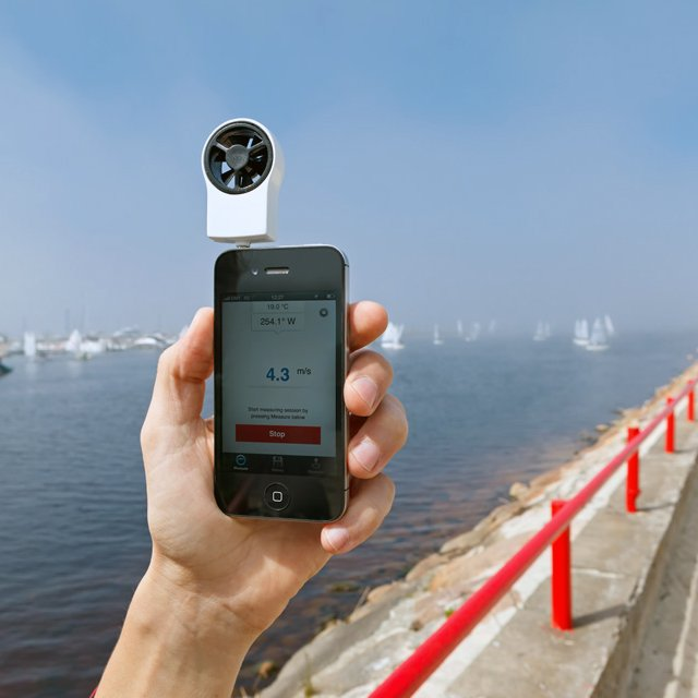 Shaka Wind Meter for iPhone
