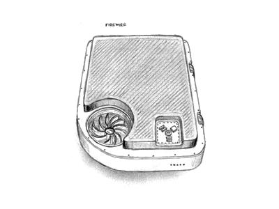 FireWire drive sketch by Plexform