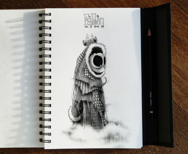 sketchbook drawings and illustrations by pez 1 Sketchbook Drawings and Illustrations by PEZ