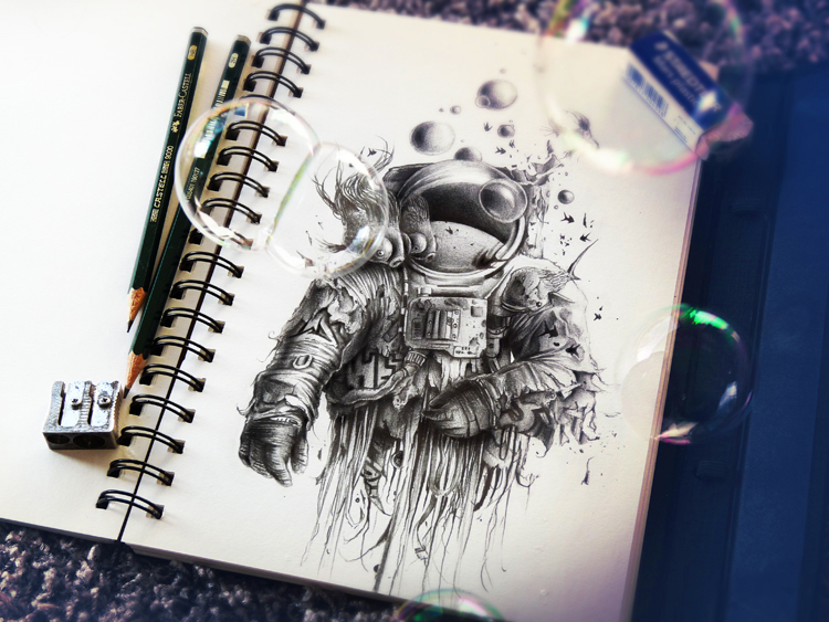 sketchbook drawings and illustrations by pez 9 Sketchbook Drawings and Illustrations by PEZ