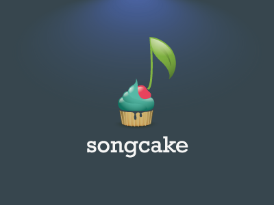 songcake 21 40 Music Based Logo Designs