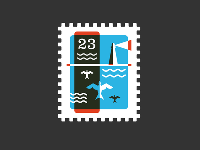 Stamp by Riley Cran