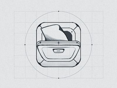 technote sketch1 Beautiful Brainstorming: 25 Inspirational Icon Sketches