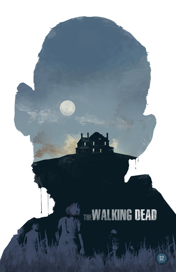 the walking dead 2 40 Expressive Walking Dead Fan Artworks