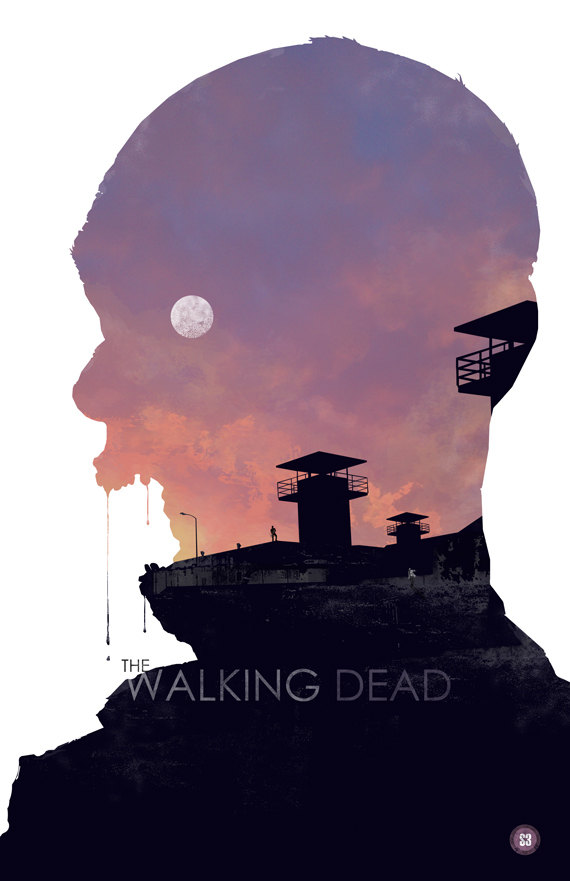 the walking dead 3 40 Expressive Walking Dead Fan Artworks