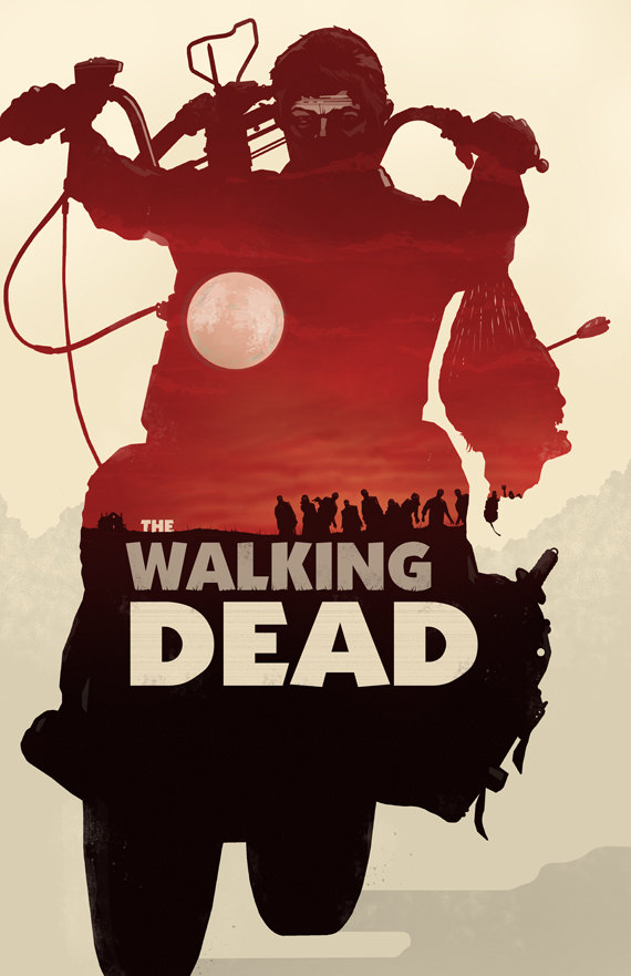 the walking dead daryl dixon 40 Expressive Walking Dead Fan Artworks