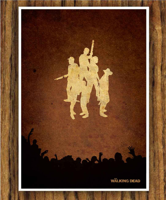 The Walking Dead Poster by Edmond