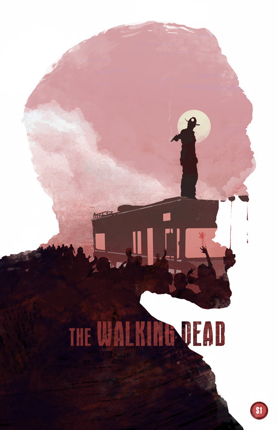 the walking dead 40 Expressive Walking Dead Fan Artworks