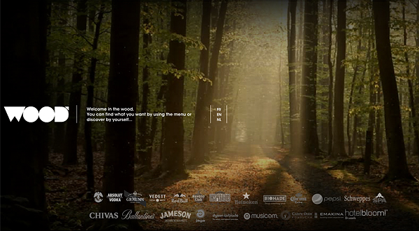 the wood 2013 Web Design Inspiration: Designing with Video Backgrounds