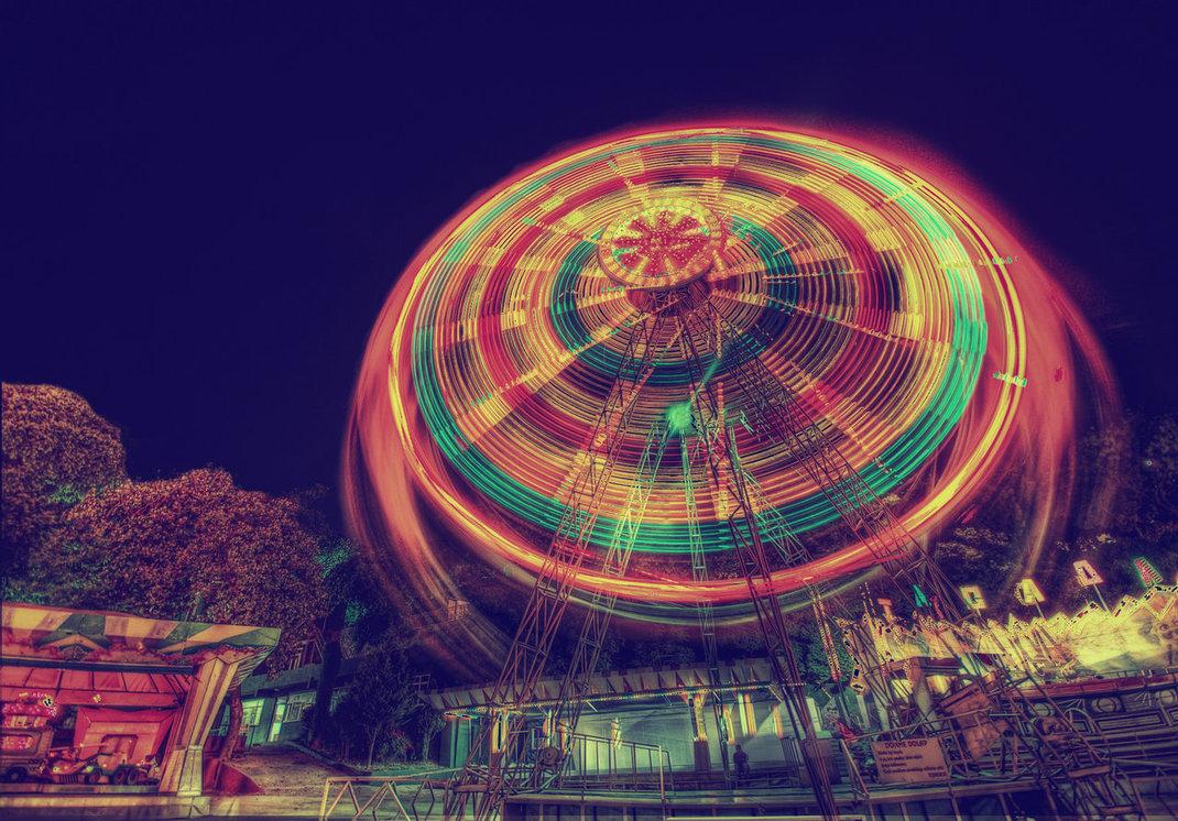 The Ferris Wheel HDR