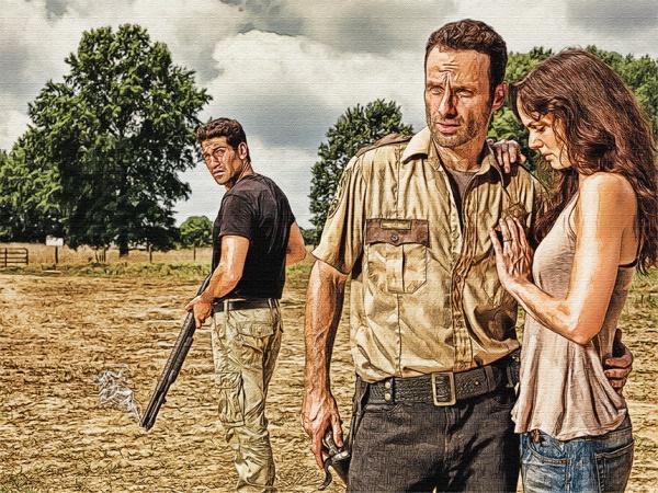 The Walking Dead: Sketch Re-Edit by Nerdboy69