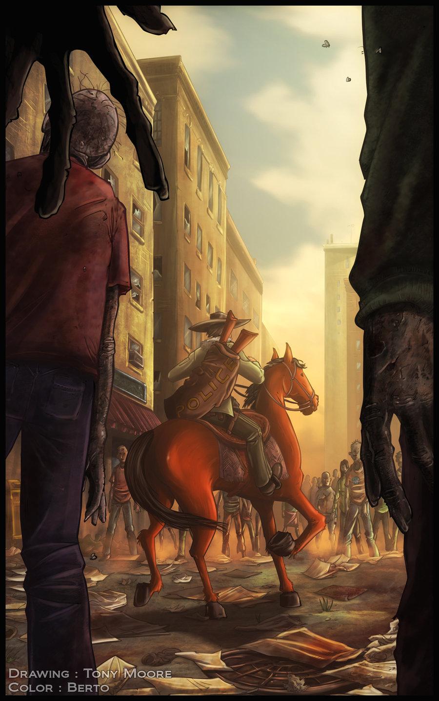 The Walking Dead by Diabolumberto