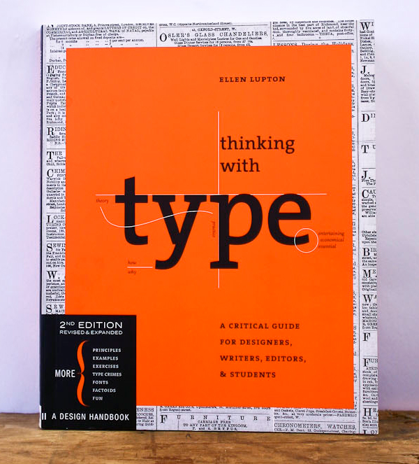 thinking with type 15 Enlightening Books for Typography Enthusiasts