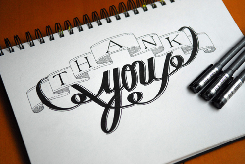 Thank You by Francis Chouquet