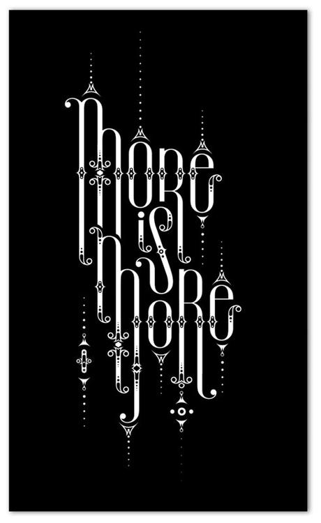 nice typography from Alex Trochut