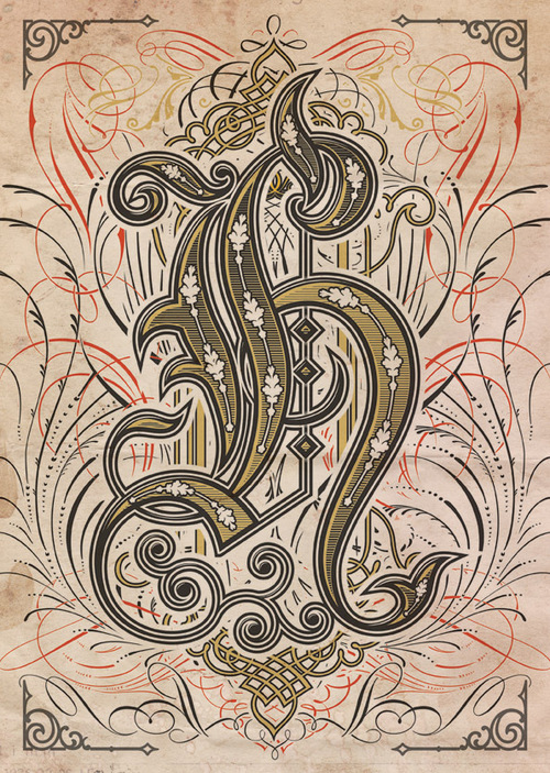 """H"" for Alphabetica by Bobby Haiqalsyah"
