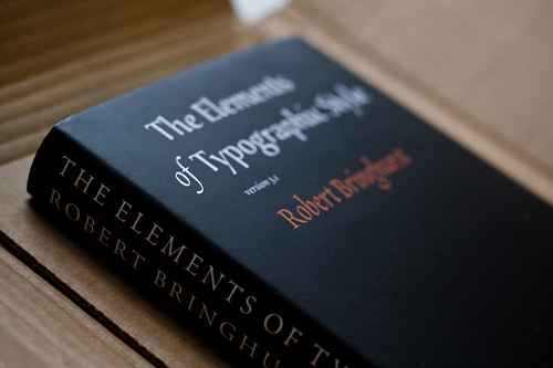 typographic style1 15 Enlightening Books for Typography Enthusiasts