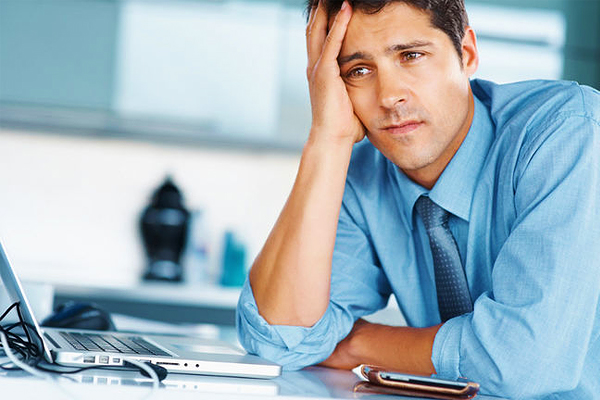unhappy guy at work Where to Find the Inspiration to Get Up and Work