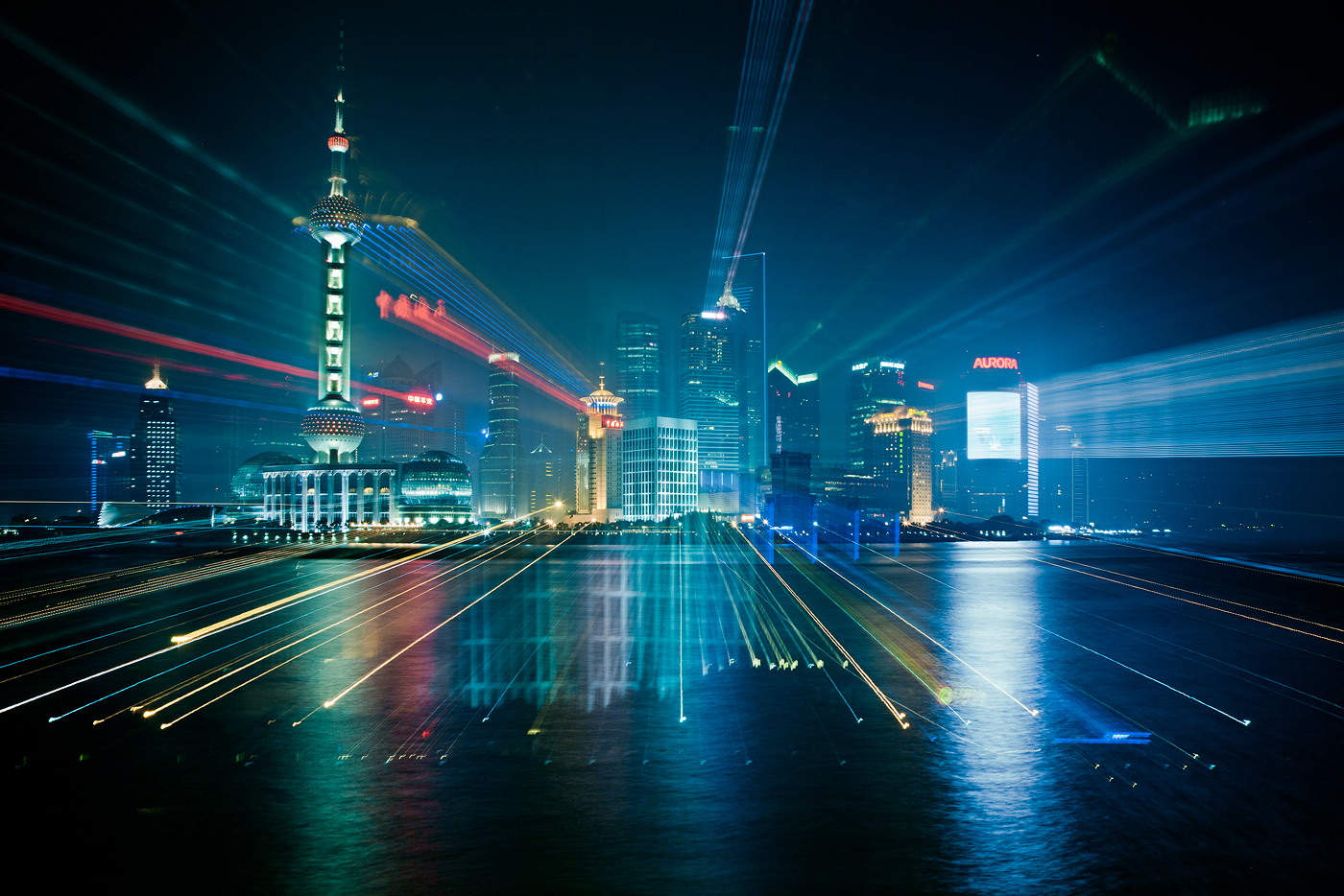 Urban Zoom: Long Exposure City Photography by Jakob Wagner
