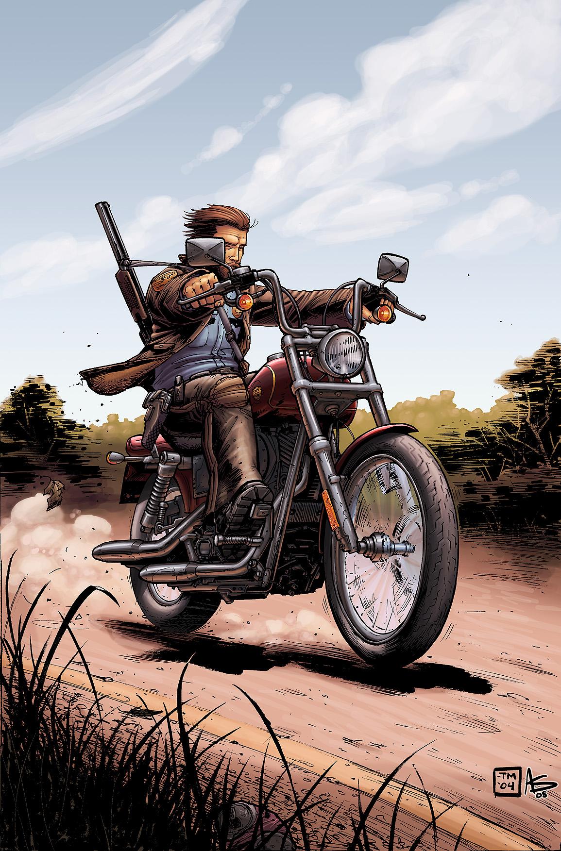Walking Dead by Alex Sollazzo