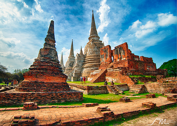 wat phra si sanphet in ayutthaya thailand 70 Jaw Dropping HDR Photographs