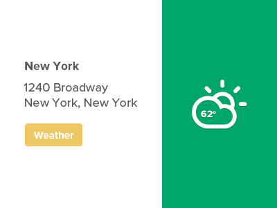 Weather Widget by Mike Moloney