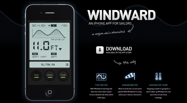 windwardapp 2013 Web Design Inspiration: Designing with Video Backgrounds
