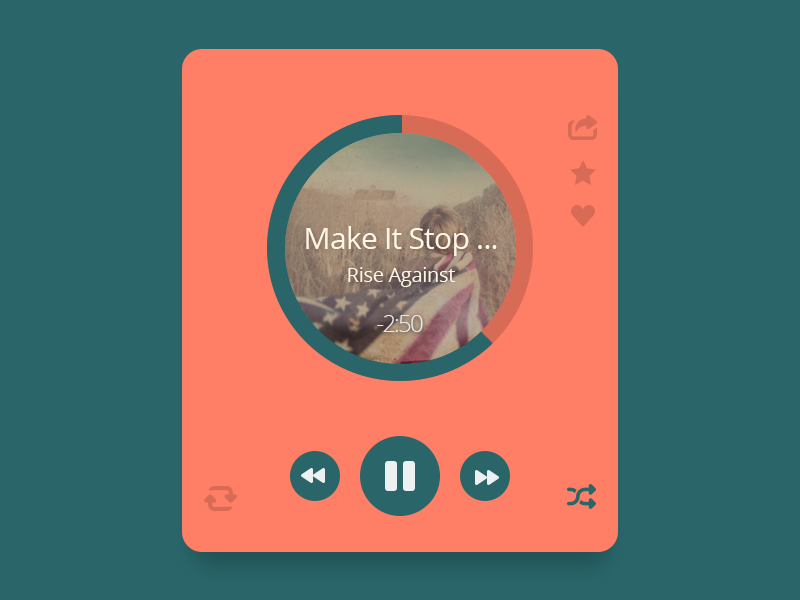 Music Player by Bluroon