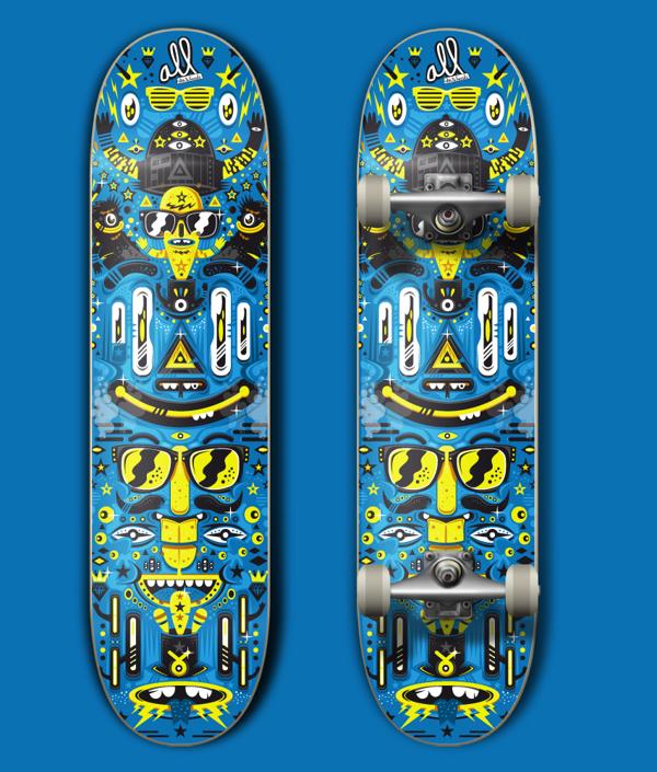 All Skateboard Contest