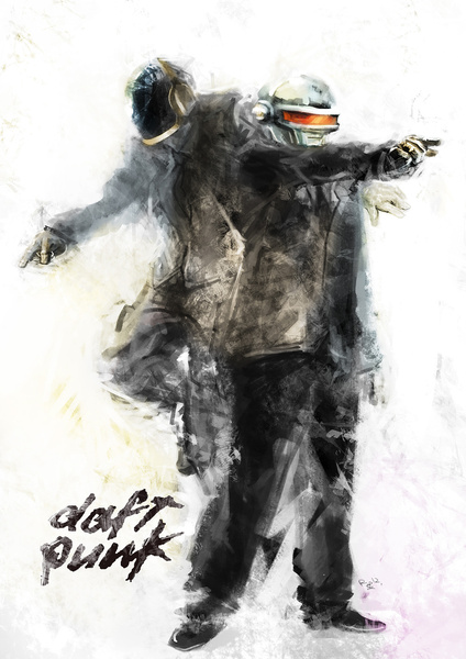 1007070 5000309 lz1 A Tribute: 40 Awesome Daft Punk Artworks